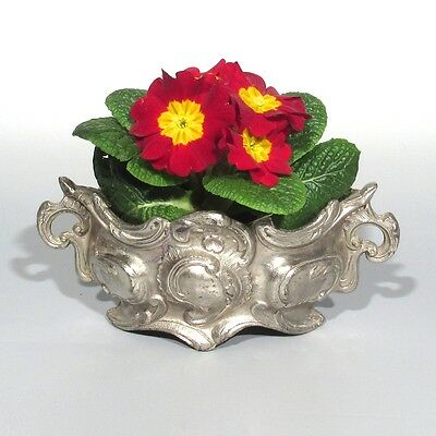Antique French Small Centerpiece / Jardinière, Rococo Pattern