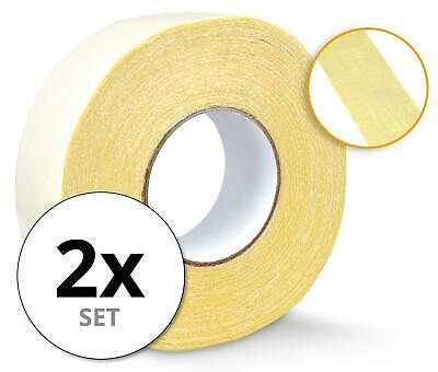 2x Double Sided Tape Adhesive Industries Strong Sticky 50m Heavy Duty 48mm Width