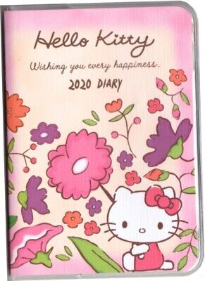2020 Hello Kitty Journal Planner Schedule Calendar Book A6 Diary Chinese Version