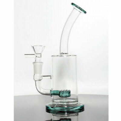 Glass Hookah Water Smoking Pipe Bong Bubbler 9 inch Random Color