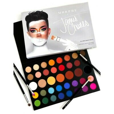 MORPHE X James Charles Palette Make Up 39 Colors Eye Shadow Inner Artist Pressed