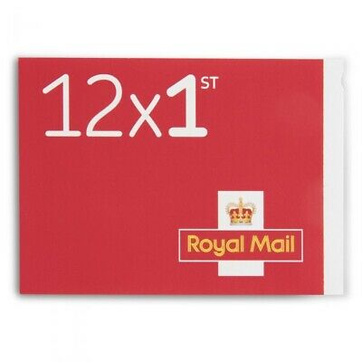 Royal Mail Stamps 1st class Book of 12 Letter Stamps