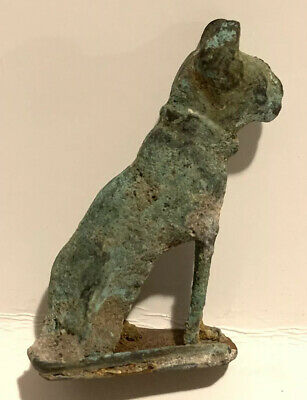 antique egyptian statue bastet