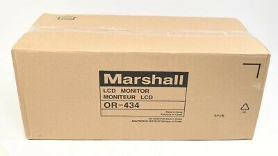 New Marshall Electronics Orchid OR-434 Quad 4.3 LCD Rack Mount Monitor System