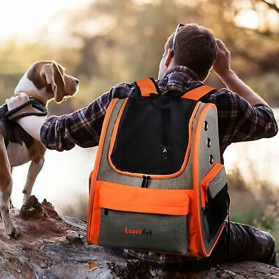 Pet Backpack Carrier Portable Travel Bag Breathable Pet Backpack for Dogs& Cats