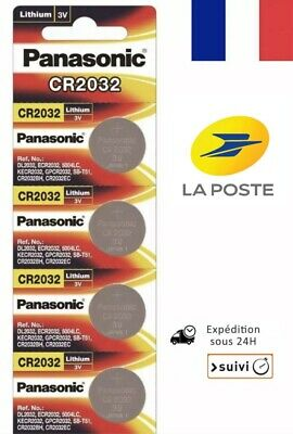 4X Panasonic CR2032
