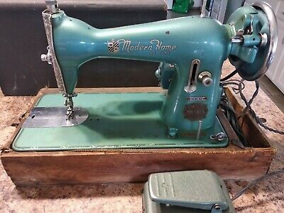 Brother Modern Home De Luxe Sewing Machine (# 396654)