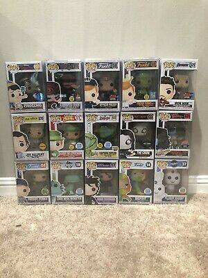 Funko Pop!  ONE MYSTERY  POP! VHTF, RARE, VAULTED,EXCLUSIVES, STAN LEE, Commons.