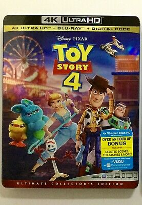 Toy Story 4 4K Blu-ray Digital Slipcover Brand NEW FREE~First Class Shipping!