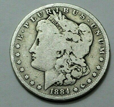 1884-P Morgan Silver Dollar, SUPERB  US OLD COIN, $1.00 , No Reserve.
