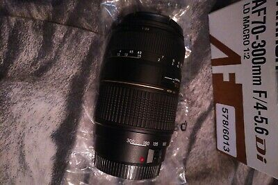 Tamron AF70-300mm F4-5.6 LD macro zoom lens new boxed  for canon EF