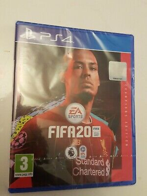 FIFA 20 Champions Edition (PS4) BRAND NEW AND SEALED - IN STOCK - QUICK DISPATCH