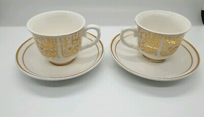 Turkish Coffee Cups and Saucer (1Set) (2 Piece-cup and saucer) Ottoman designed