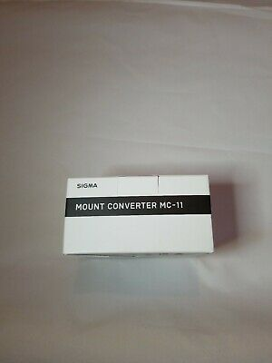 Sigma MC-11 Mount Converter Lens Adapter (Sigma/Canon EF-Mount Lenses to Sony E)