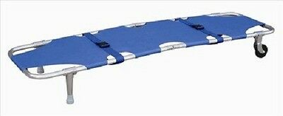 Foldaway Stretcher + Wheel Blue Emergency Equipment 191-MayDay