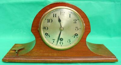 D.R.P JSGUS GERMAN 1920s 8 DAY WESTMINISTER CHIMES MANTLE CLOCK