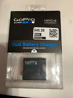 🔥BRAND NEW!!!🔥 GoPro Dual Battery Charger with Rechargeable Battery Hero 4