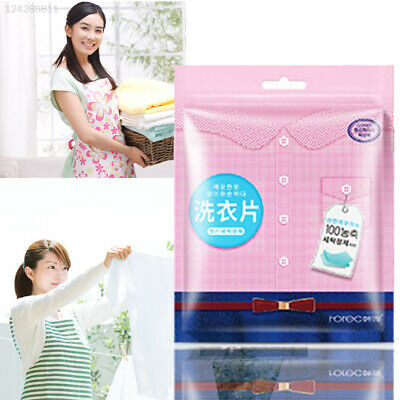D7F6 Pink Washing Powder Soap Home Supplies Color Protection Natural Fragrance