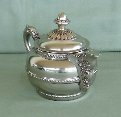 Vintage Rochester Stamping Works Coffee/Tea Pot Silver-plated