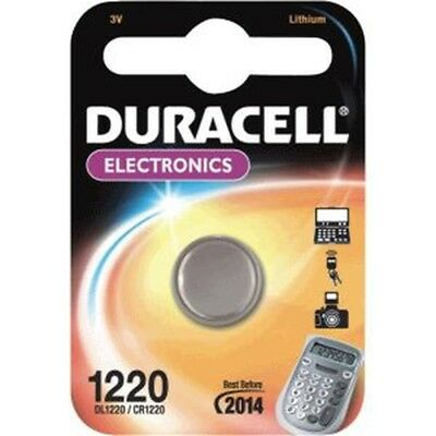 Duracell CR1220 3V Lithium 3V non-rechargeable battery