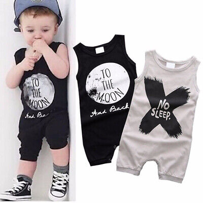 Cute Newborn Kids Baby Boy/Girl Infant Romper Jumpsuit Bodysuit Clothes Outfit
