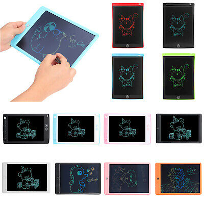 8.5/10inch LCD Tablet Portable Writing Pad E-writer Board Kid DIY Drawing Tool