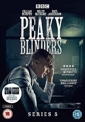Peaky Blinders: Series 5 (With Limited Edition Beer Mats) [DVD]