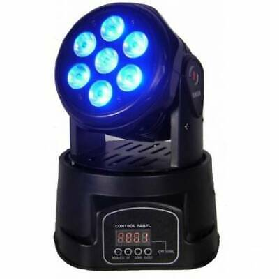 MINI MOVING HEAD 7x10W RGBW 4in1