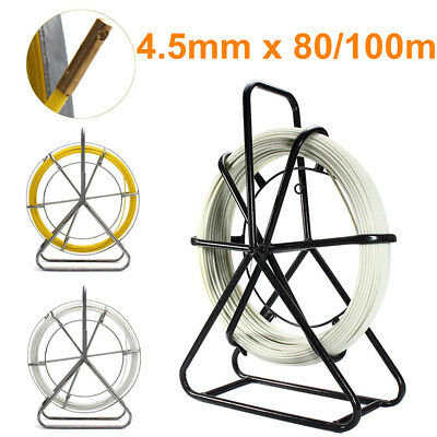 4.5mm Fiberglass Wire Cable Rod Duct Electric Tape Running Pullers Lead