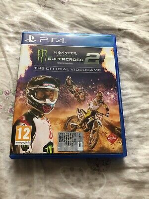 Monster Energy Supercross 2 The Official Videogame Italiano Ita Ps4 Come Nuovo