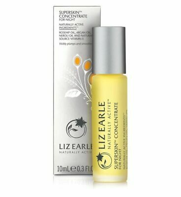 Liz Earle Superskin Concentrate Night Facial Oil 10ml Rolerball Boxed