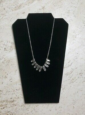 Lot of 4 Trivmph Womens Short Necklace Fashion Costume Jewlery Adjustable Silver