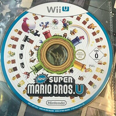 New Super Mario Bros for Nintendo Wii 2009 Disc Only
