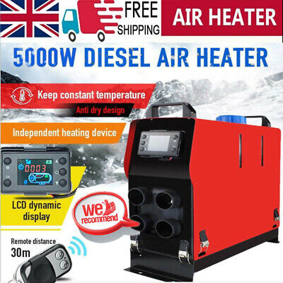 8KW 12V All In One Diesel Air Heater Car Heater LCD Thermostat Remoted For Truck