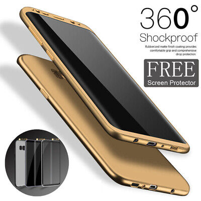 ShockProof Hybrid 360 TPU Thin Case Cover For New Samsung Galaxy S8 & S8 Plus