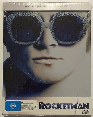 Rocketman (4K Ultra HD + Blu-Ray) Steelbook BRAND NEW & Sealed Region B 2019