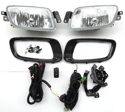 New Pair Clear Fog Lamps 8312A019//020 For Mitsubishi Pajero 2015-2016