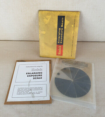 Vintage Kodak Enlarging Exposure Scale, Perfect Darkroom Camera Developing