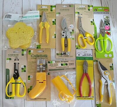 Oasis Florist/ florist tools - scissors, cutters, stem stripper, kit