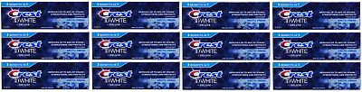 Crest 3D White Deluxe Toothpaste 3 Benefits In 1 Arctic Fresh 12x75ml EXP 12/19