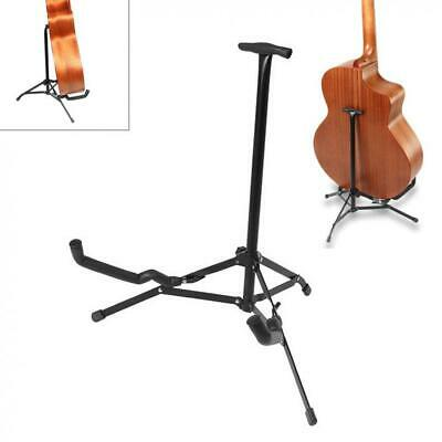 Electric Acoustic Bass Guitar Ukulele Stand Black Floor Guitar Stands Folding