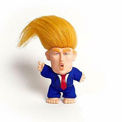 Collectible President Donald Trump Troll Doll - Hair to the (military-leaders)