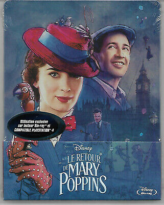 LE RETOUR DE MARY POPPINS / Blu-Ray Steelbook Neuf sous blister - VF