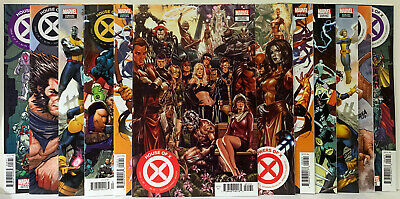 House of X Powers of X #1-6 Connecting Covers Putri Molina Brooks Bag&Board NM/M