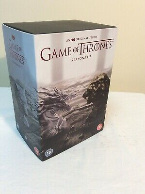 game of thrones 1-7 dvd box set