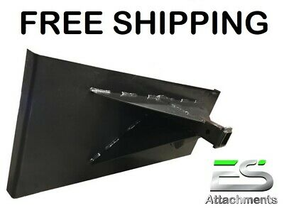 ES Hitch Plate Trailer Mover Skid Steer quick attach FREE SHIPPING