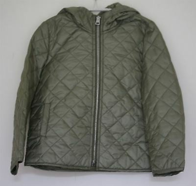 Ermanno Scervino Girls Green Quilted Jacket 4 Years