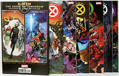 House Of X #1-6 Nm/M Regular Cover A Hickman Bagged & Boarded