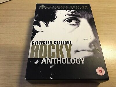 BOXED - Rocky Anthology - Ultimate Edition (DVD, 2005)