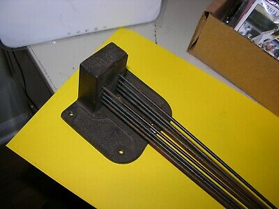Chime Rod Assembly for Grandfather Clock 8 Rods Marked 10